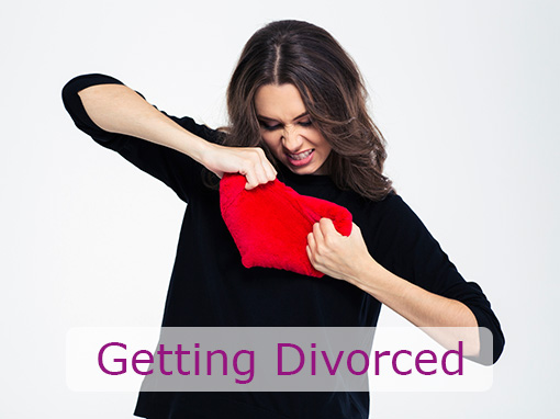 women getting divorced